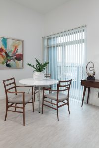 Enjoy a new dining space in our spacious Urban One Bedrooms!