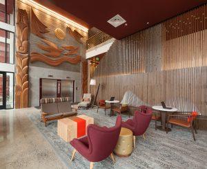 The Carter lobby