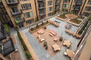 The Carter's Heartwood is a great place to enjoy the outdoors without the noise of Downtown Redmond!