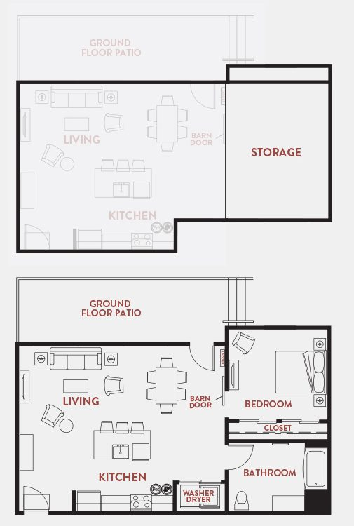 Unit - 109 Floorplan