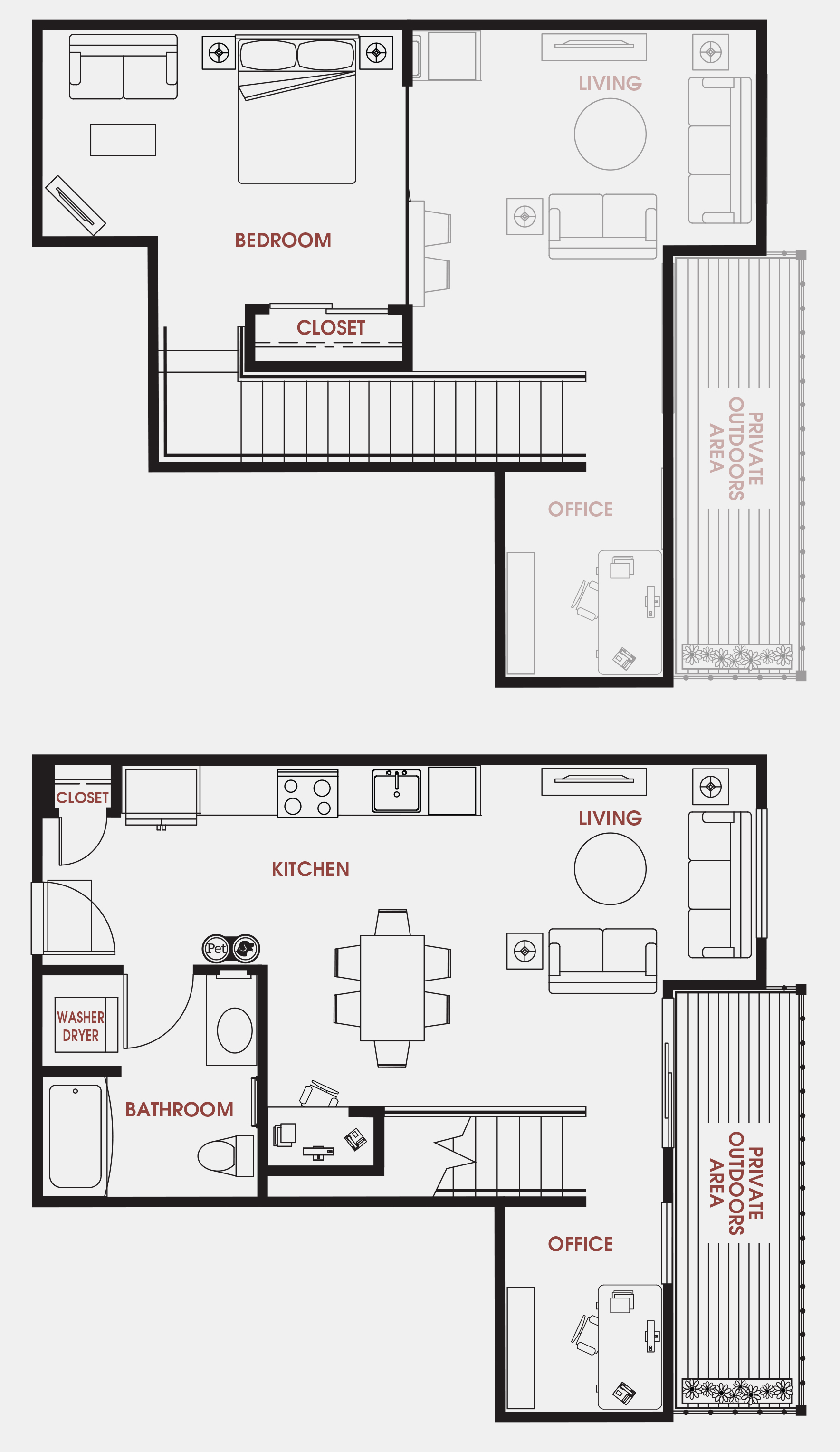Unit - 661 Floorplan